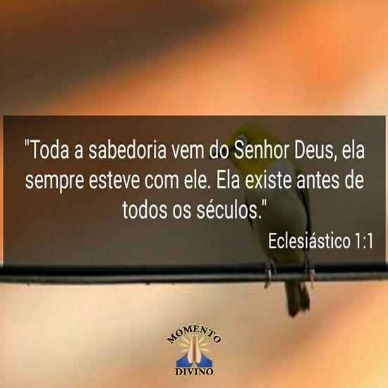 Eclesiastes 1.1