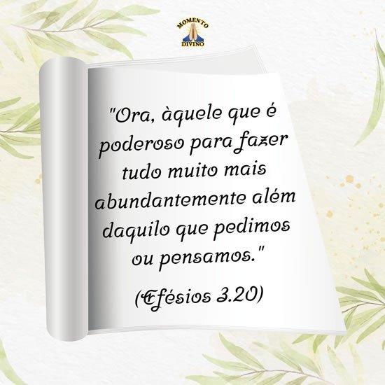 Efésios 3.20