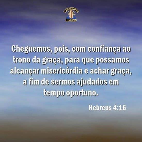 Hebreus 4.16