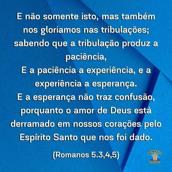 Romanos 5.3