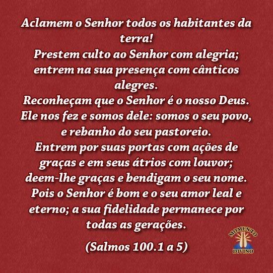Salmos 100.1