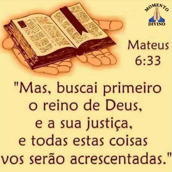 Mateus 6.33