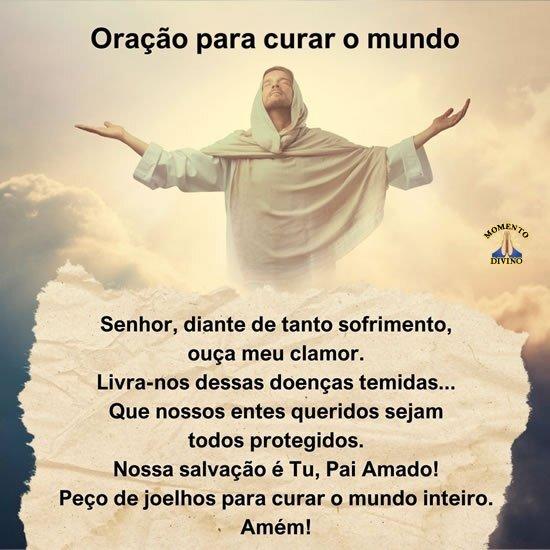 Oração para curar o mundo