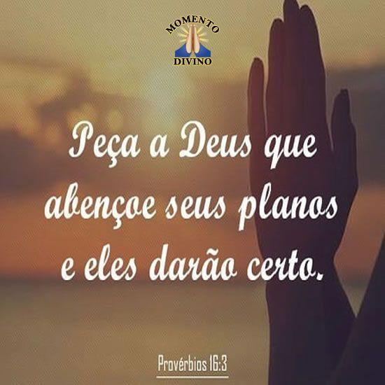 Provérbio 16.3