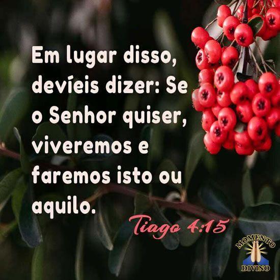 Tiago 4:15