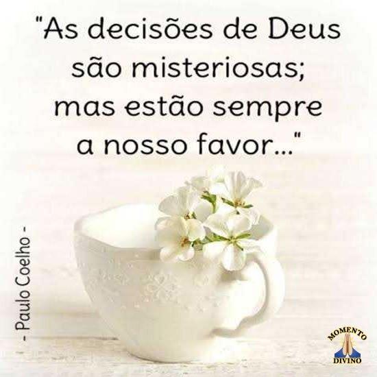 As decisões de Deus