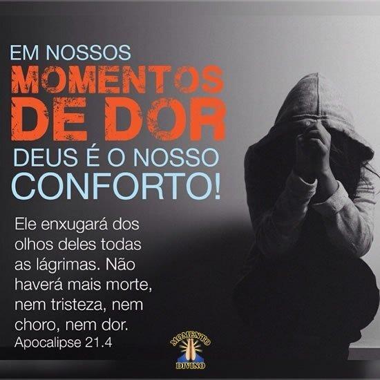 Deus é o nosso conforto