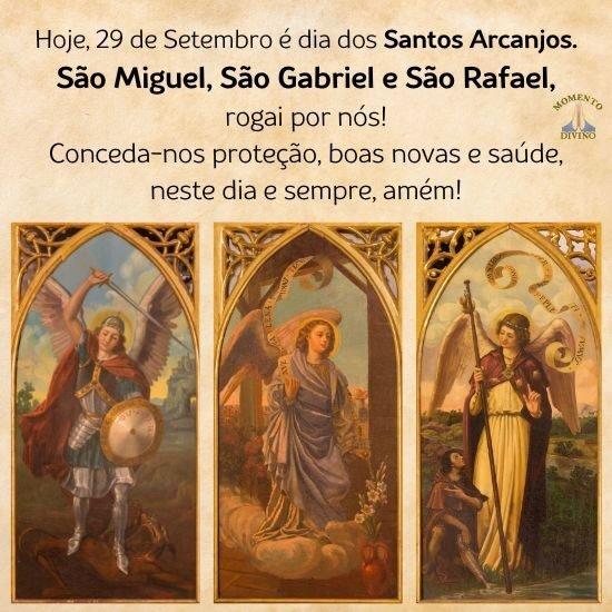 Dia dos Santos Arcanjos