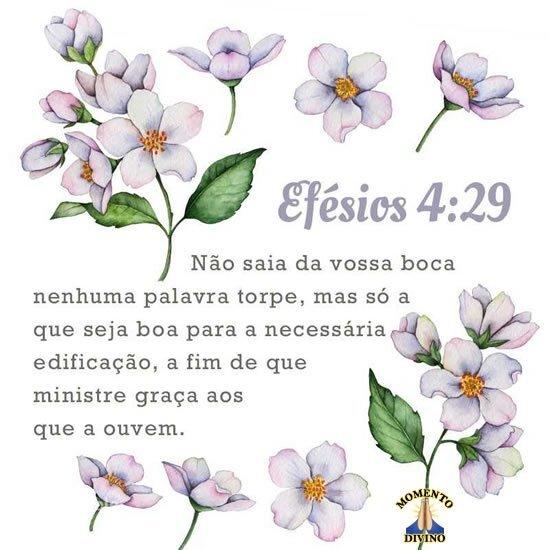 Efésios 4.29