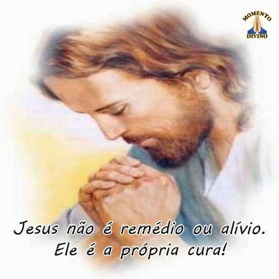 Jesus é a cura