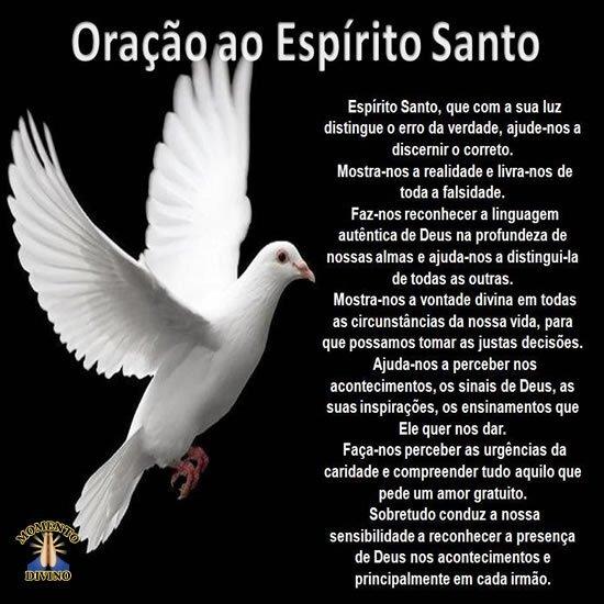 Oração ao Espírito Santo