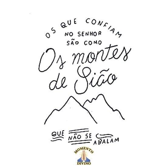 Os montes de Sião