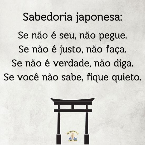 Sabedoria japonesa