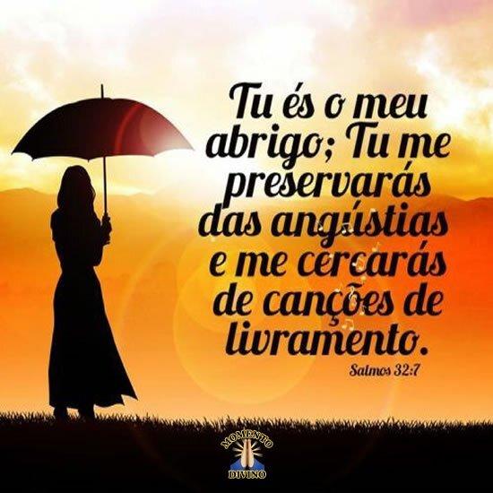 Salmos 32.7