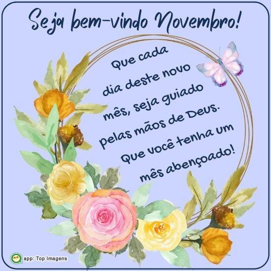 Seja bem-vindo Novembro