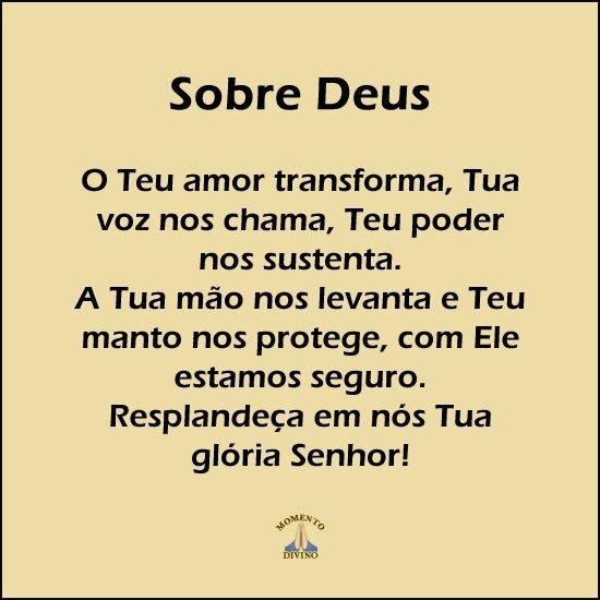 Sobre Deus