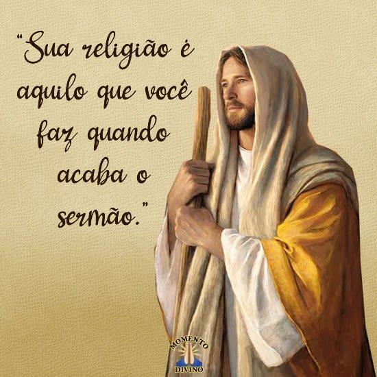 Sua religião