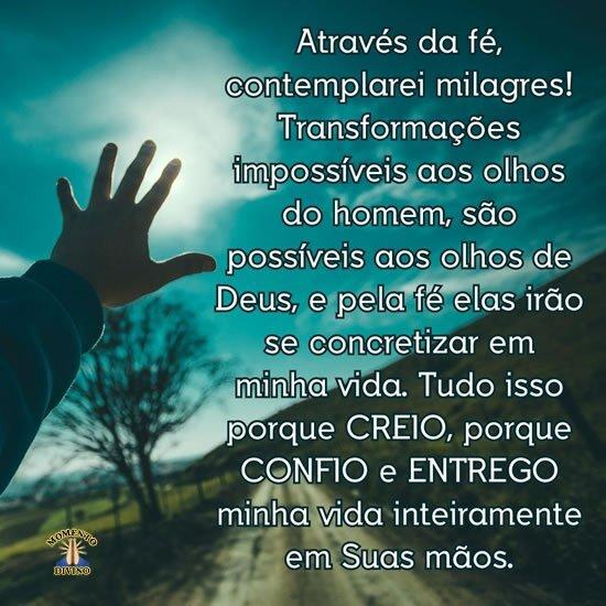 Contemplarei milagres