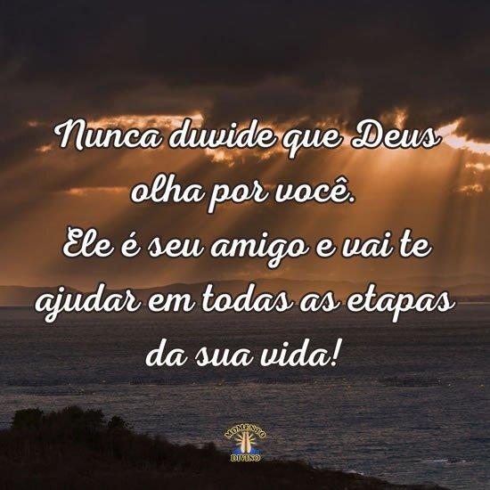 Nunca duvide de Deus