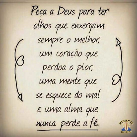 Peça a Deus
