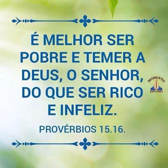 Provérbios 15.16
