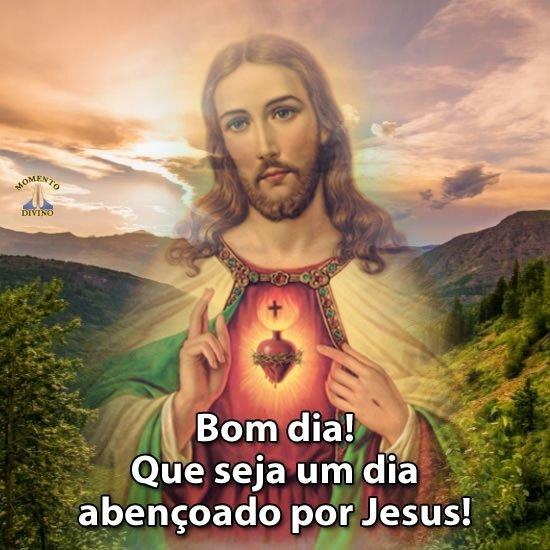 Um dia abençoado por Jesus